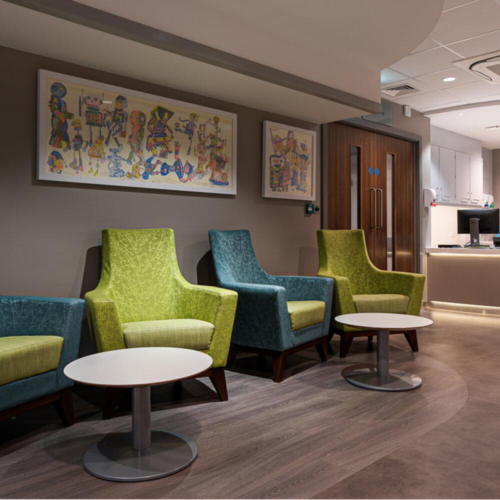 The Stokes Centre for Urology interior design
