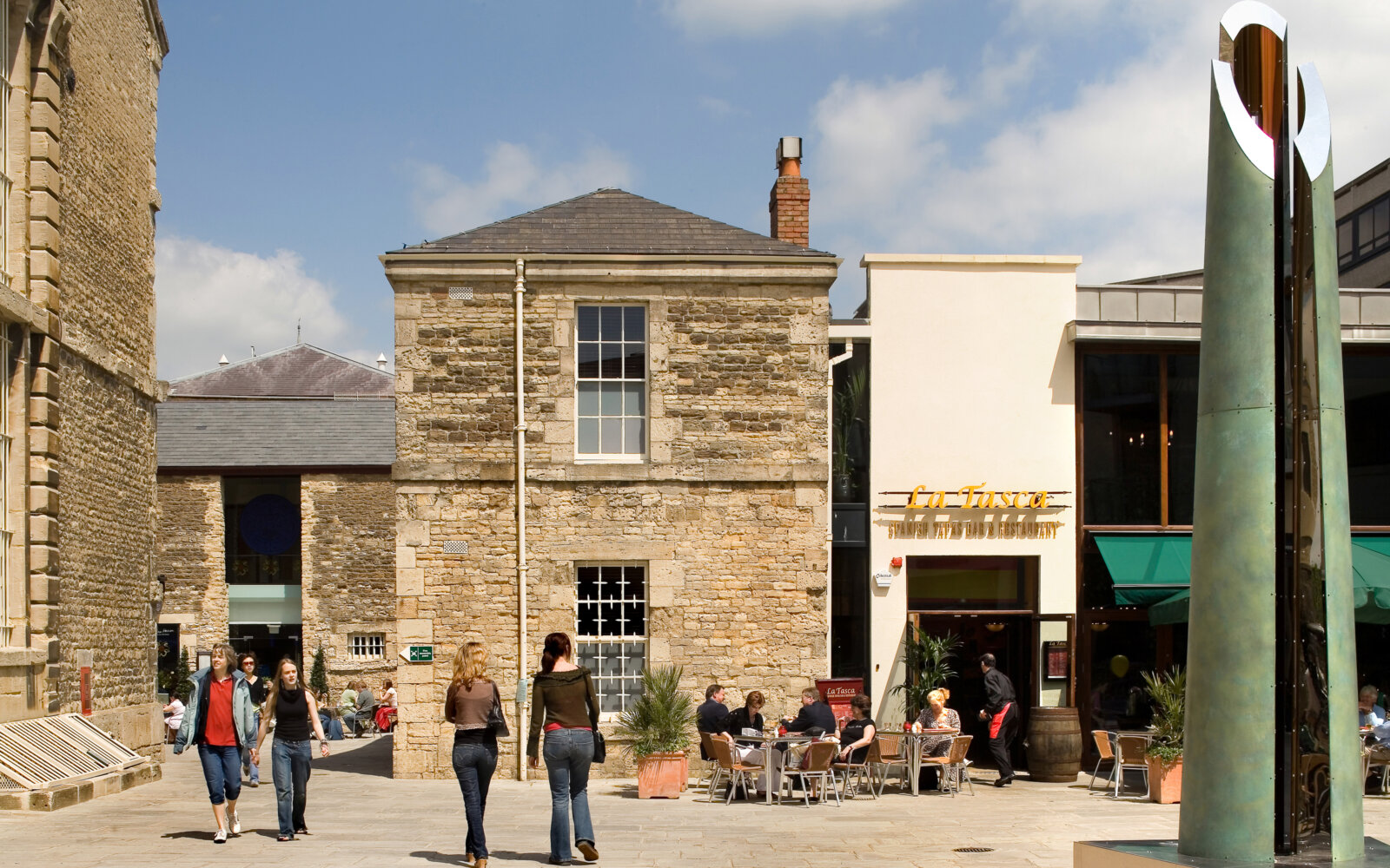 Oxford Castle Retail and Apartments