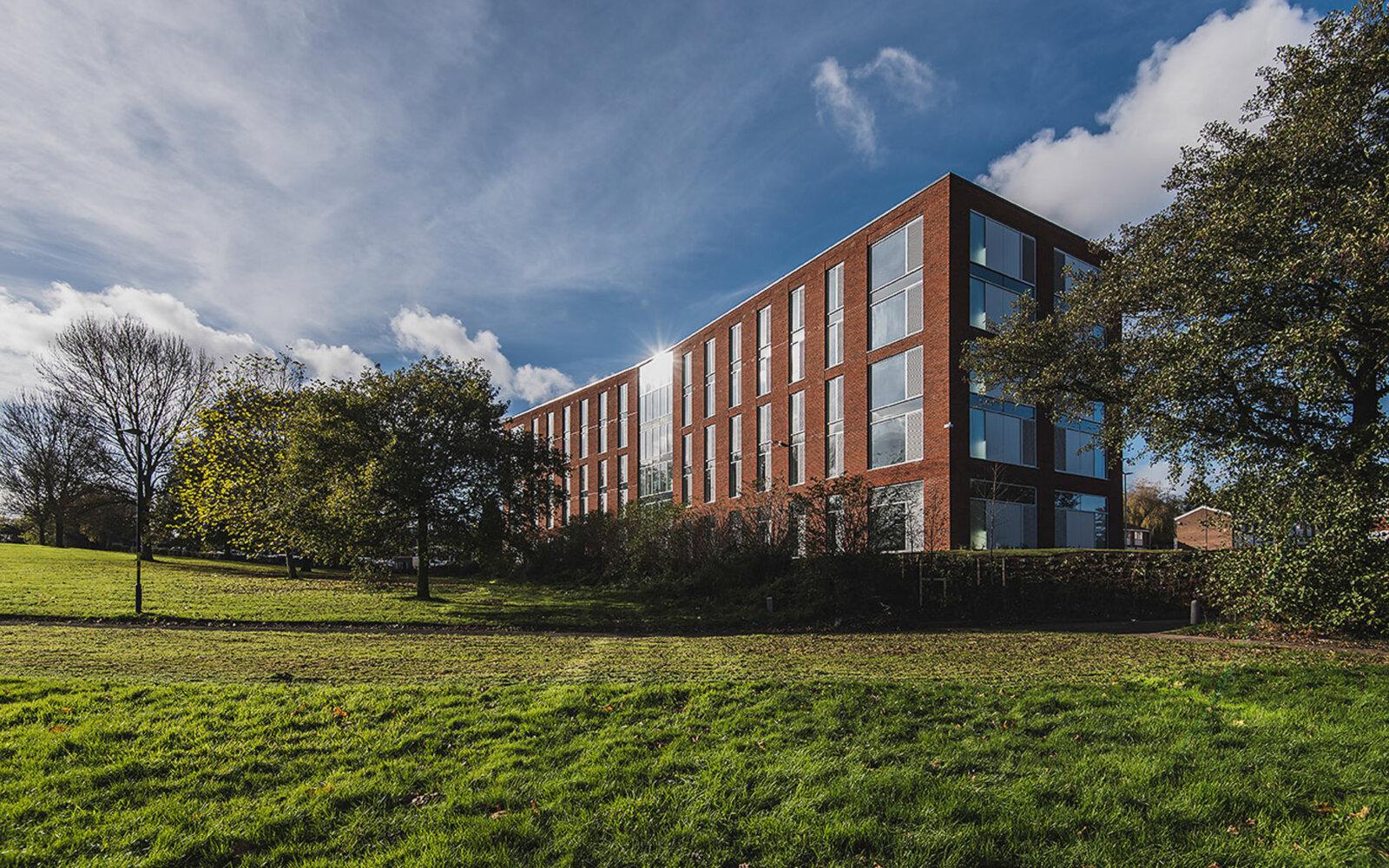 Newman Uni Halls of Residence External
