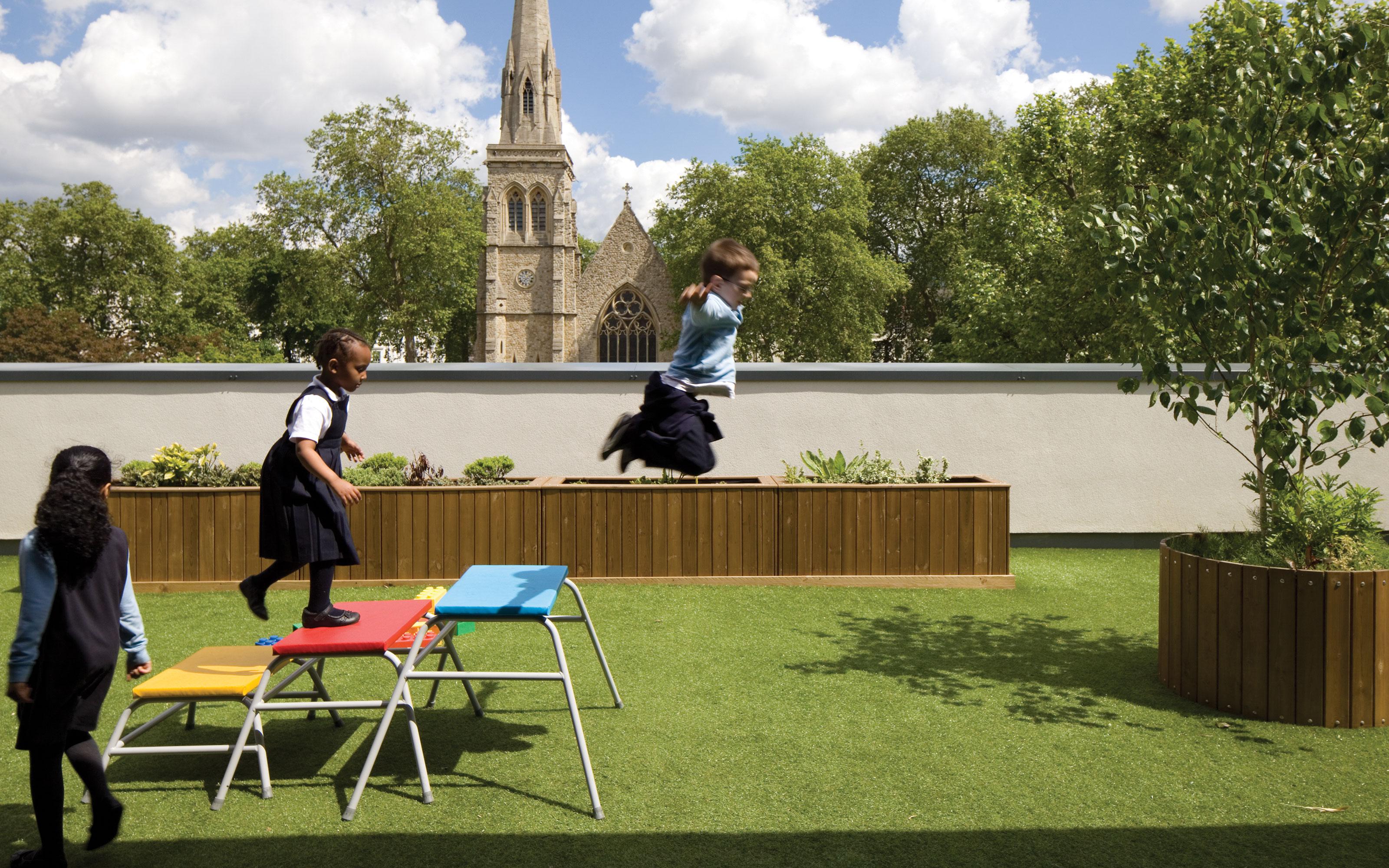 Pimlico Primary Academy Outdoor Space