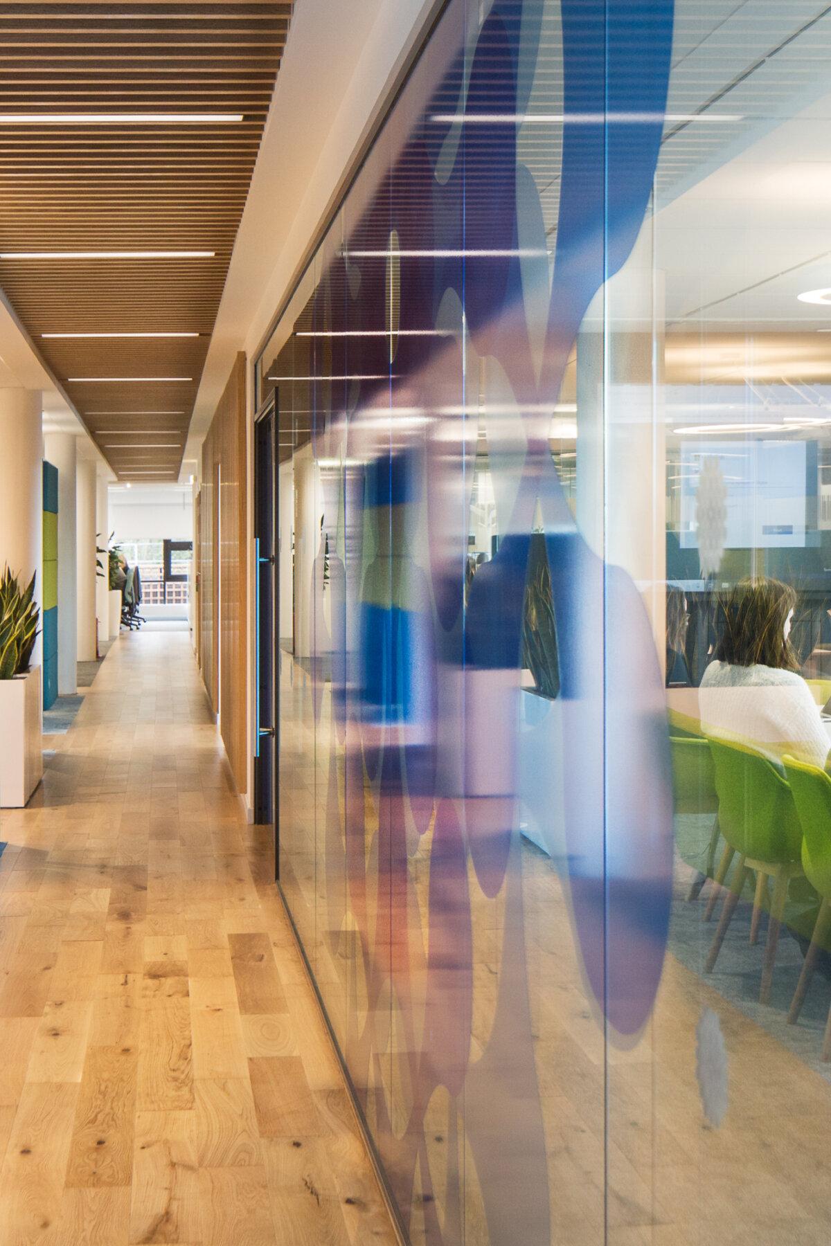 Research Hub Interior, Heriot-Watt Uni