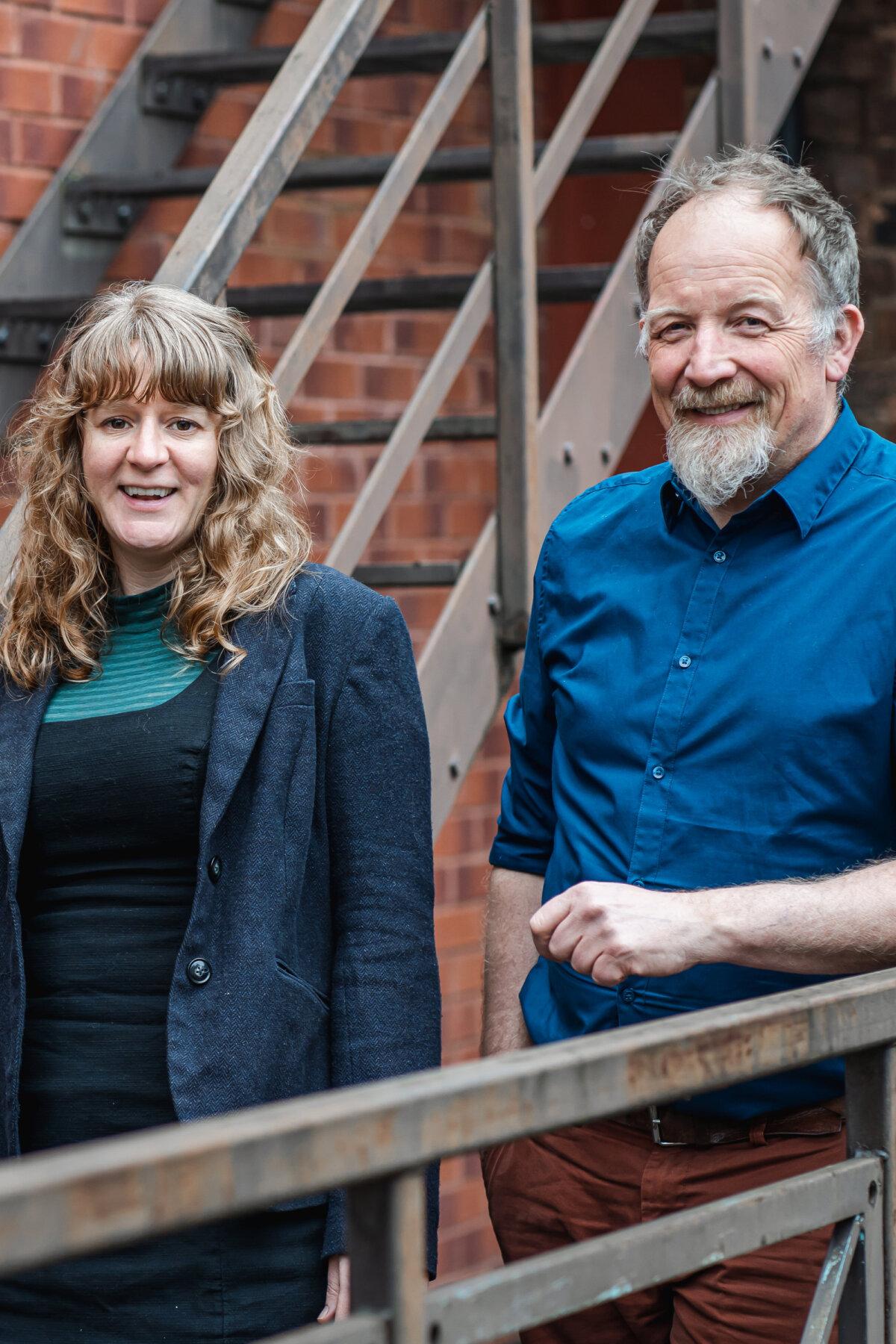 John and Claire - landscape team
