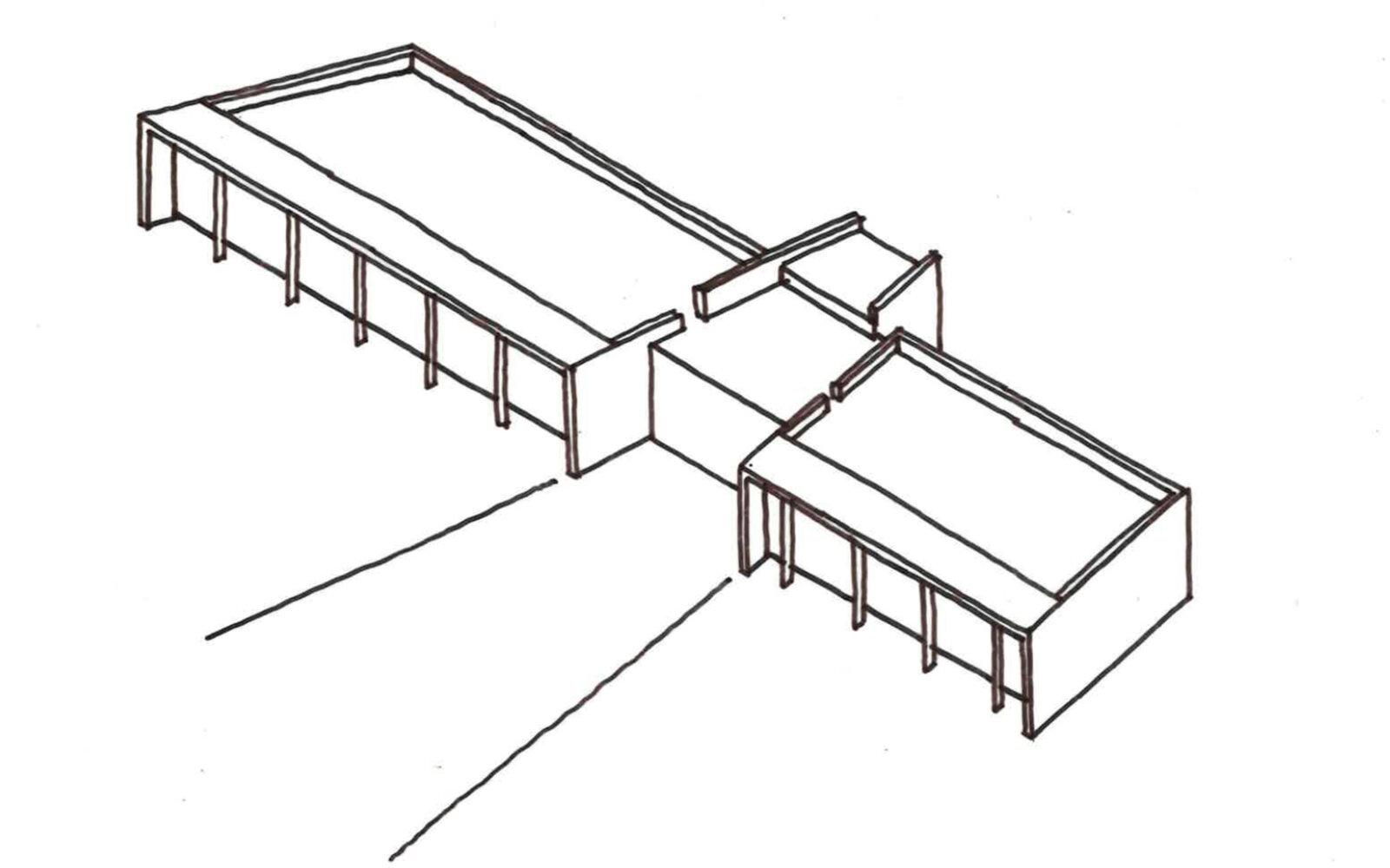 Knowledge Gateway Building University of Essex sketch
