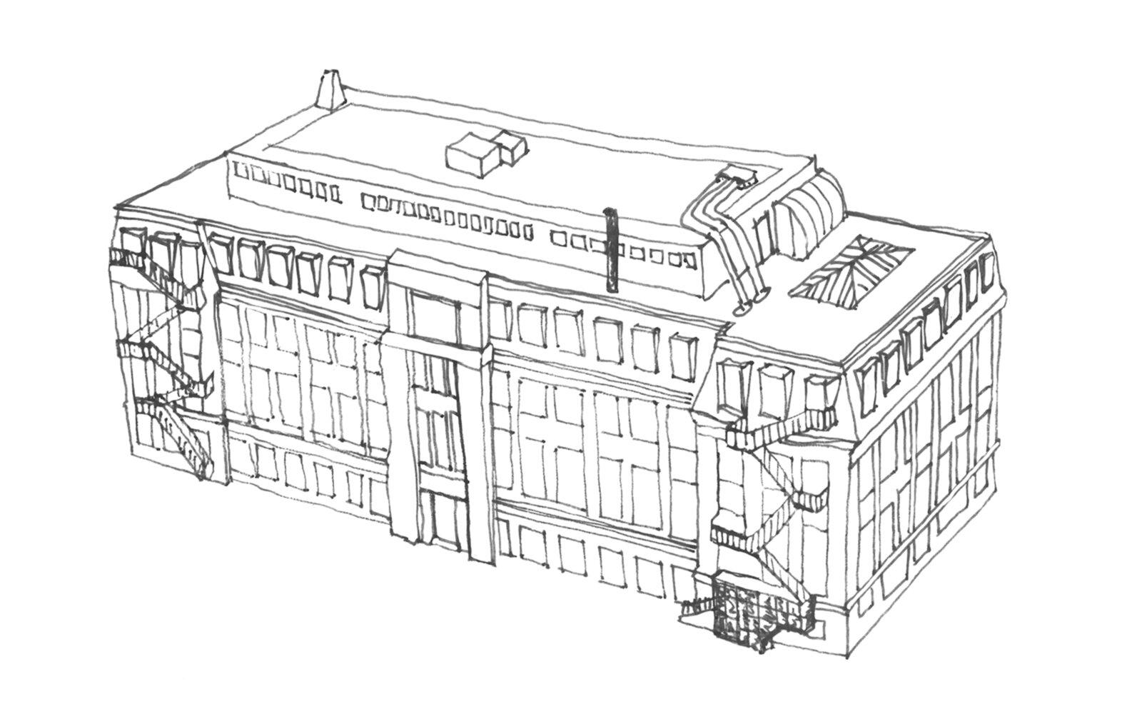 School of Fine Art University of Leeds sketch