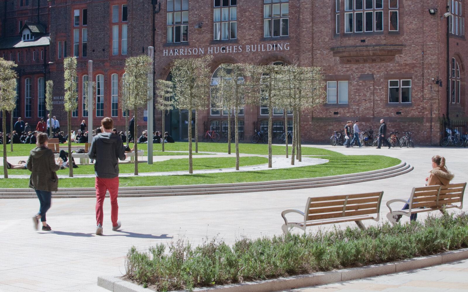 Jubilee Quad University of Liverpool