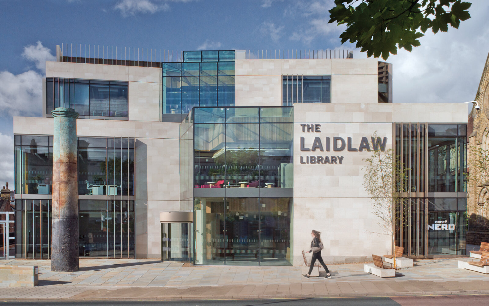 The Laidlaw Library exterior