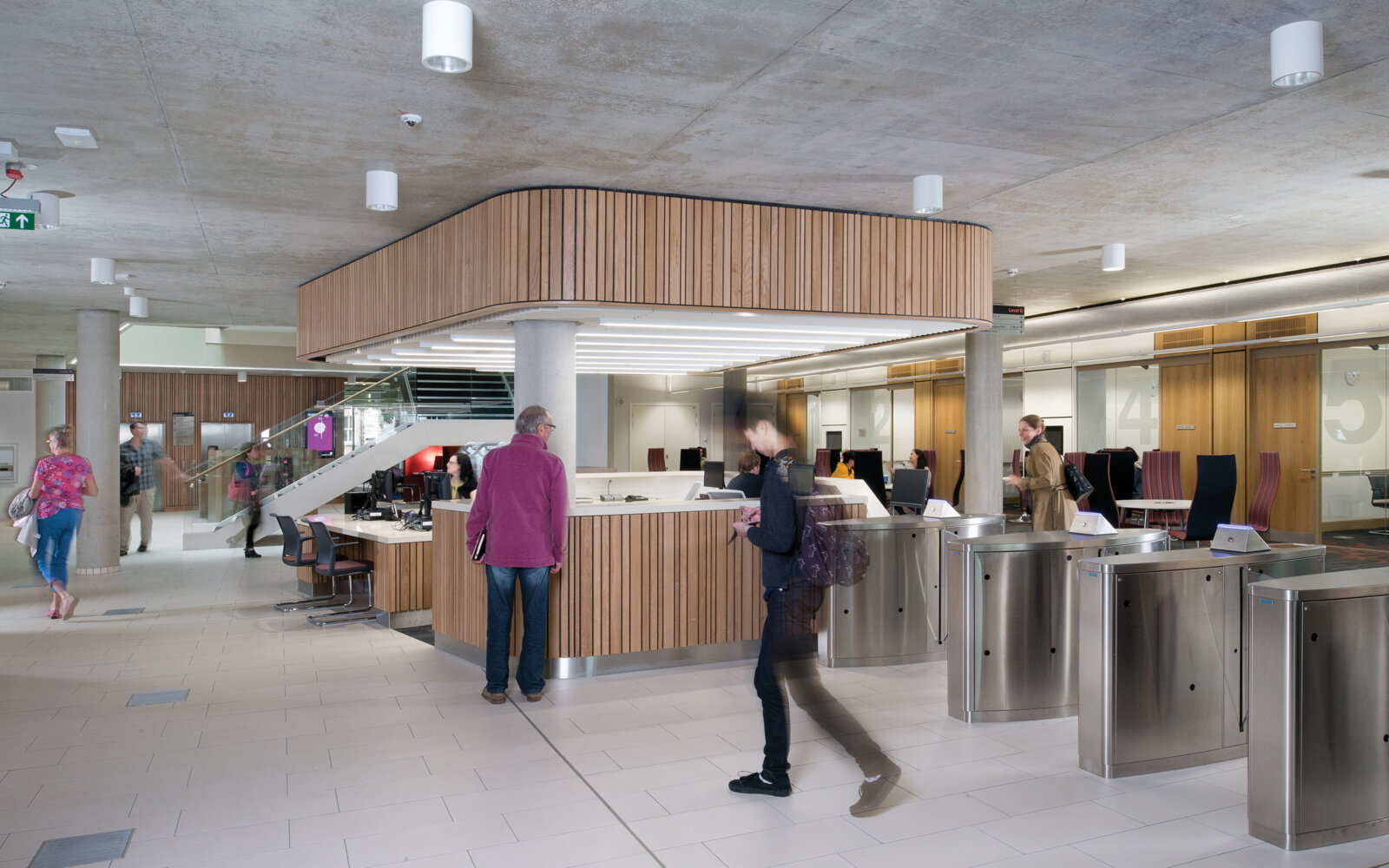 The Laidlaw Library reception