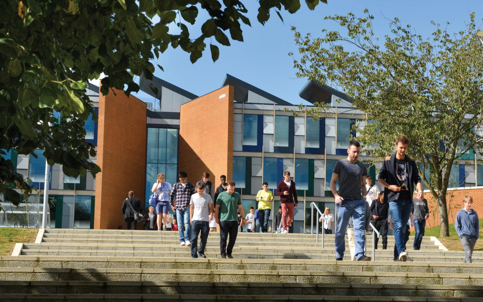University of Sussex Jubilee Building entrance