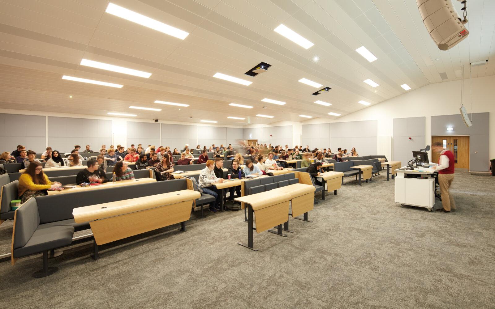Heriot-Watt University James Watt Centre lecture theatre