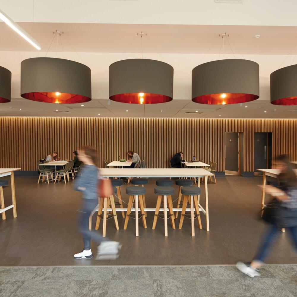 Heriot-Watt University James Watt Centre social area
