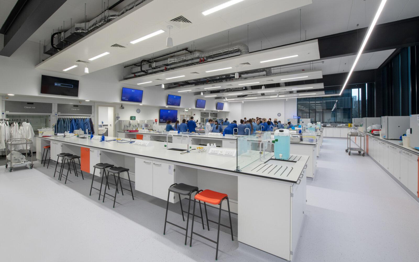 Joseph Priestley East Building University of Huddersfield laboratory