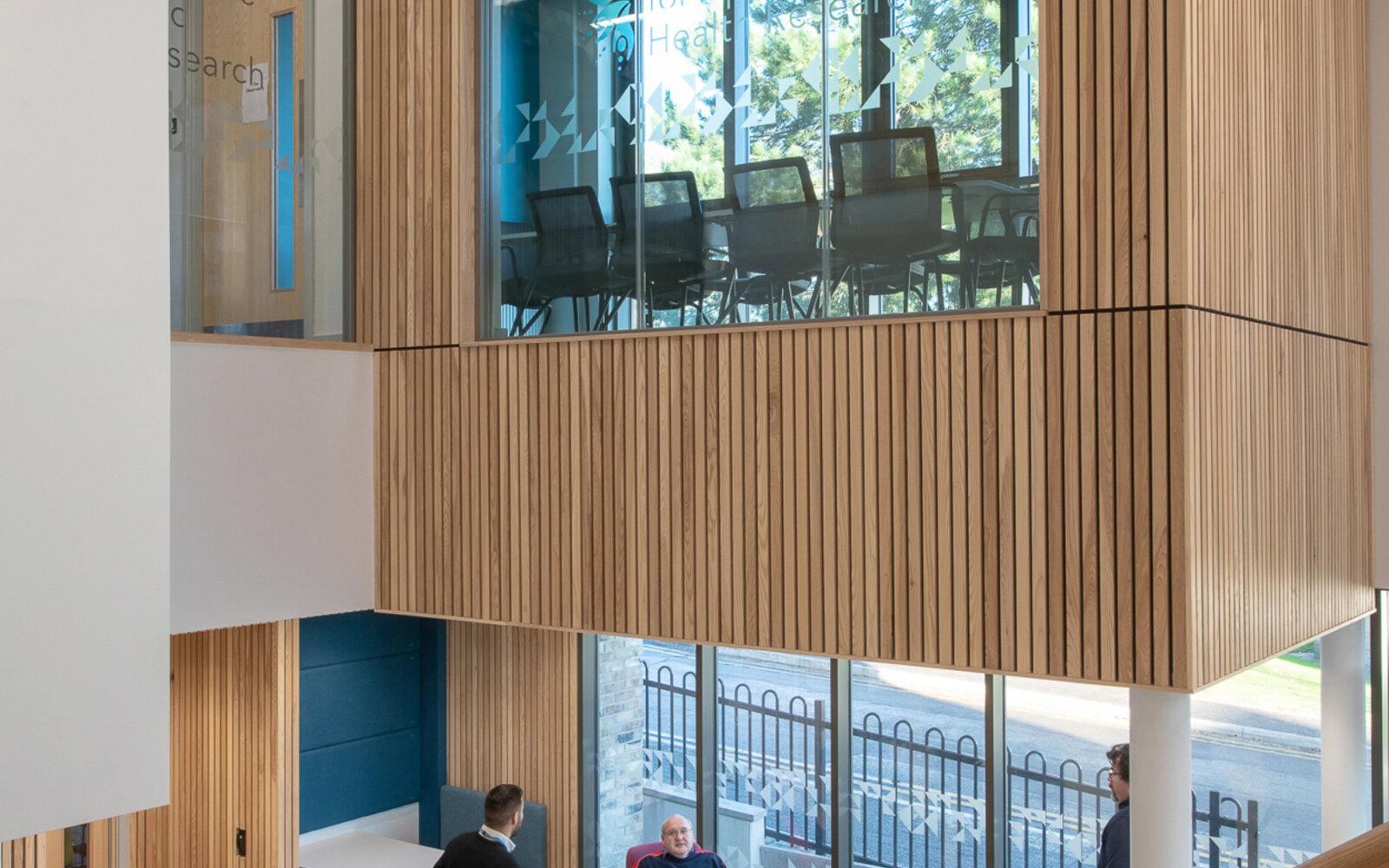 Wolfson Centre atrium