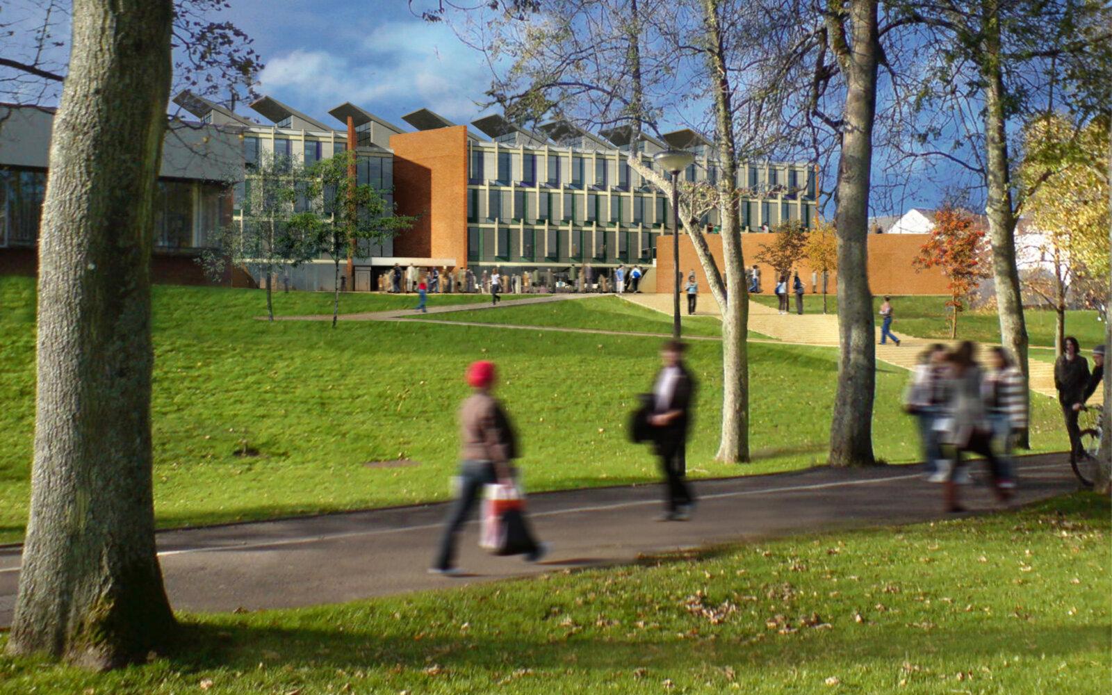 University of Sussex Jubilee Building exterior