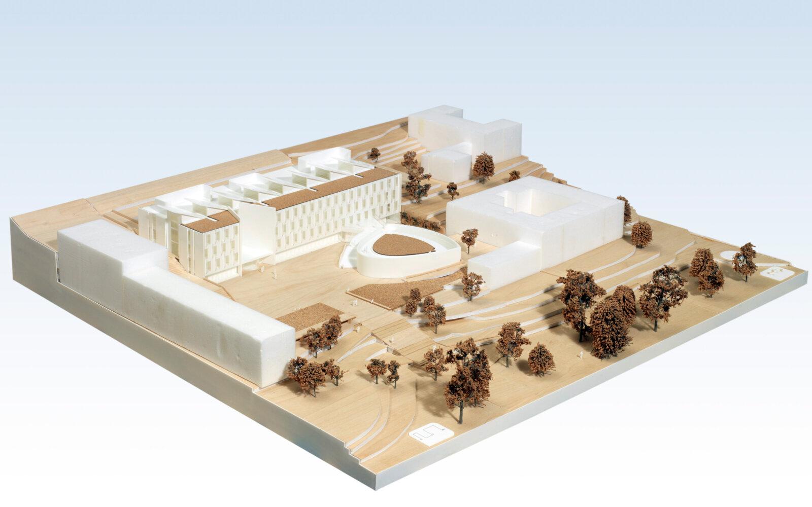 University of Sussex 3D model