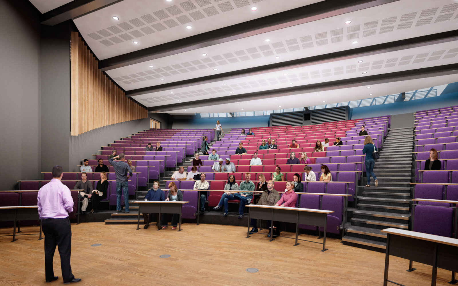 University of Sussex lecture theatre