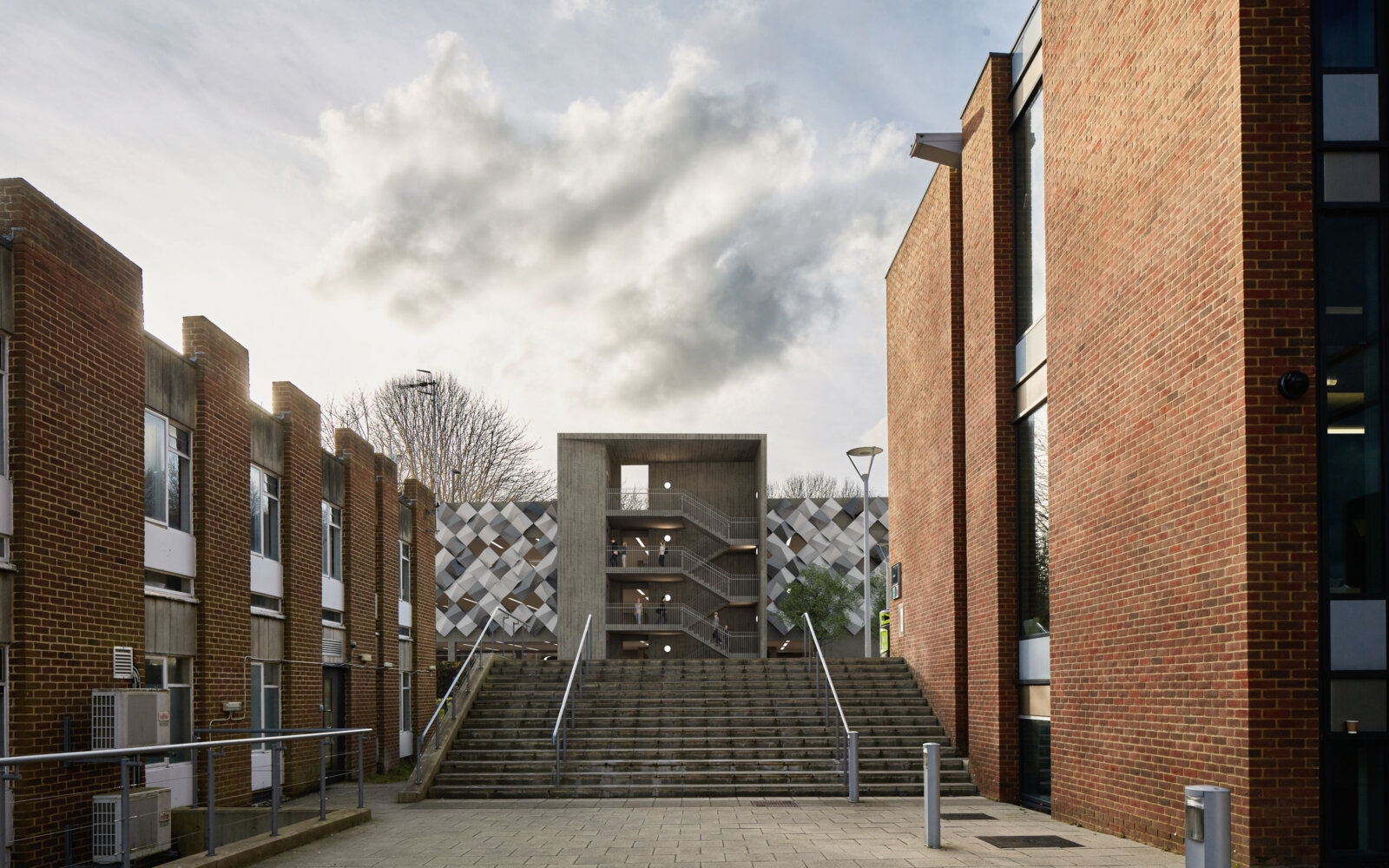 University of Sussex multi storey car park