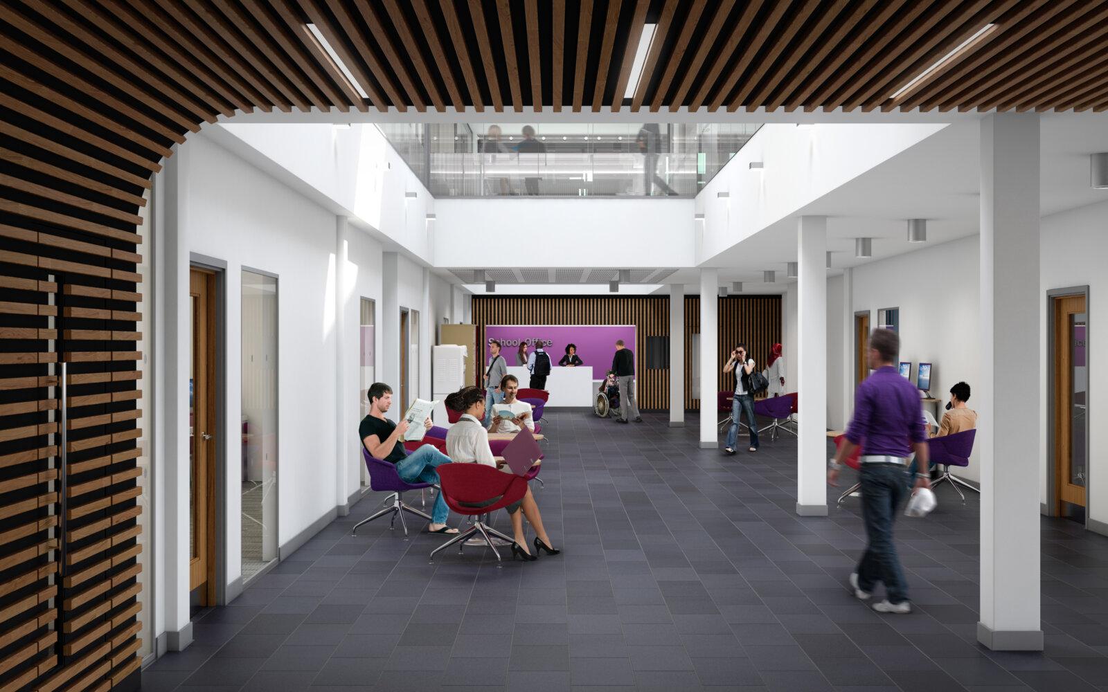 University of Sussex interior