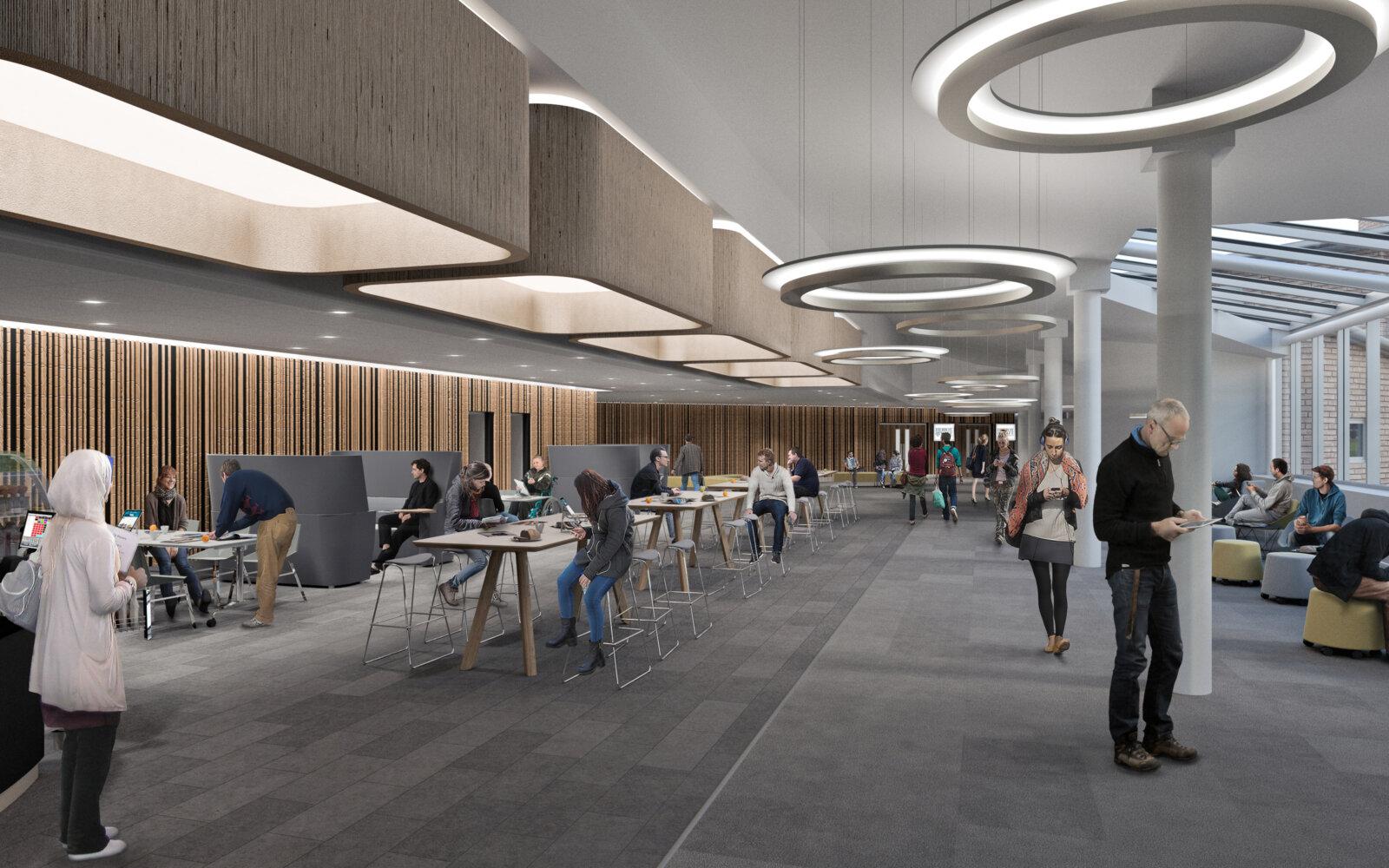 Heriot-Watt University James Watt Centre collaborative area CGI