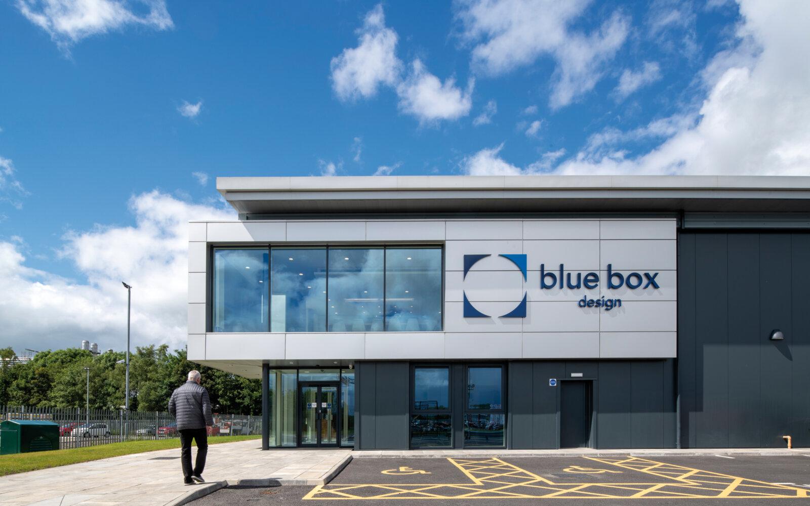 BLUE BOX DESIGN – STIRLING