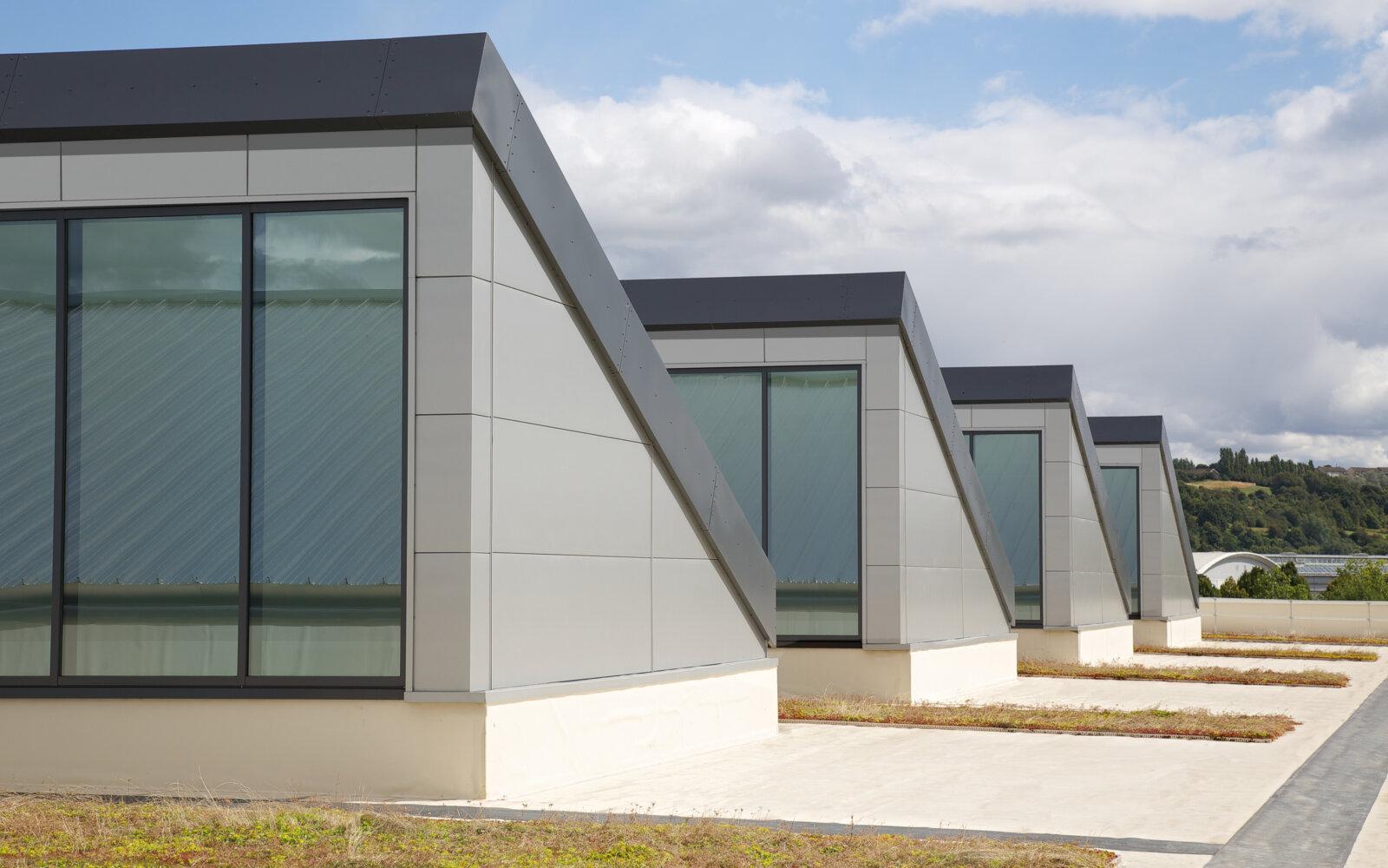 Munroe Court, Munroe K Ltd - Roof