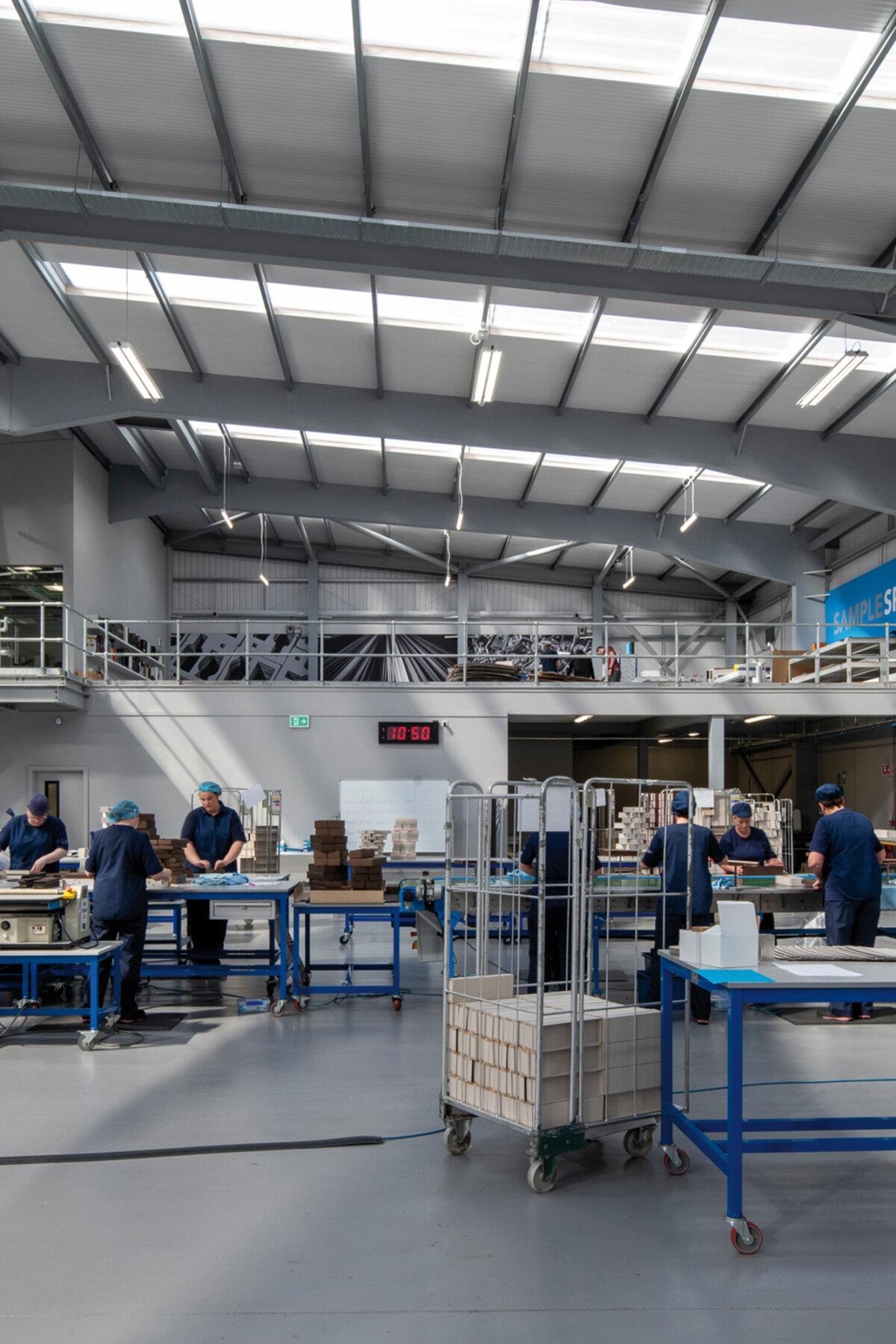 Blue Box Warehouse Internal