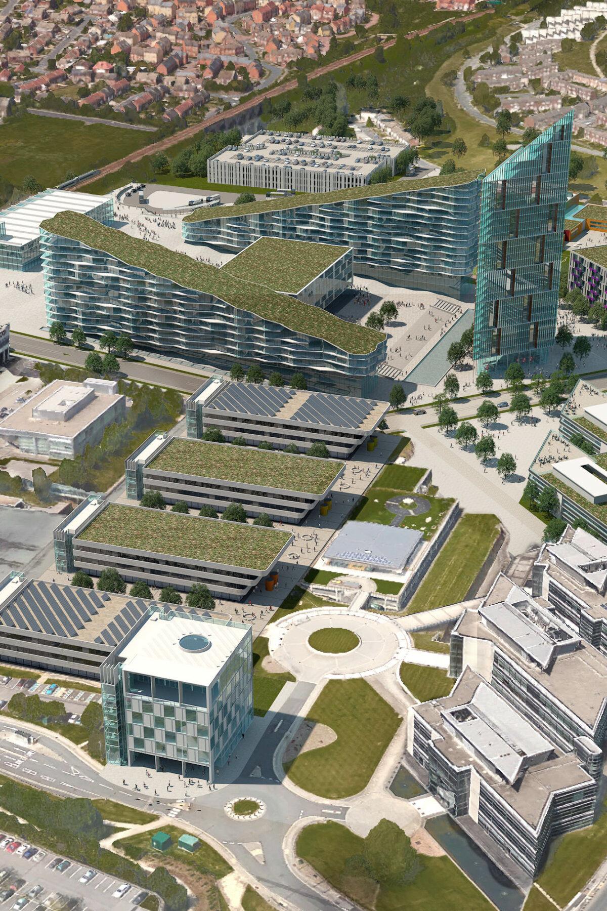 White Rose Office Park Masterplan