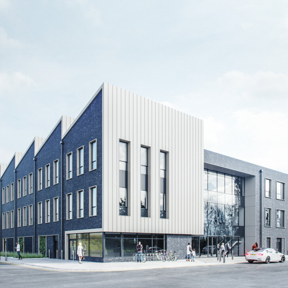 Gloucester Quayside Redevelopment CGI