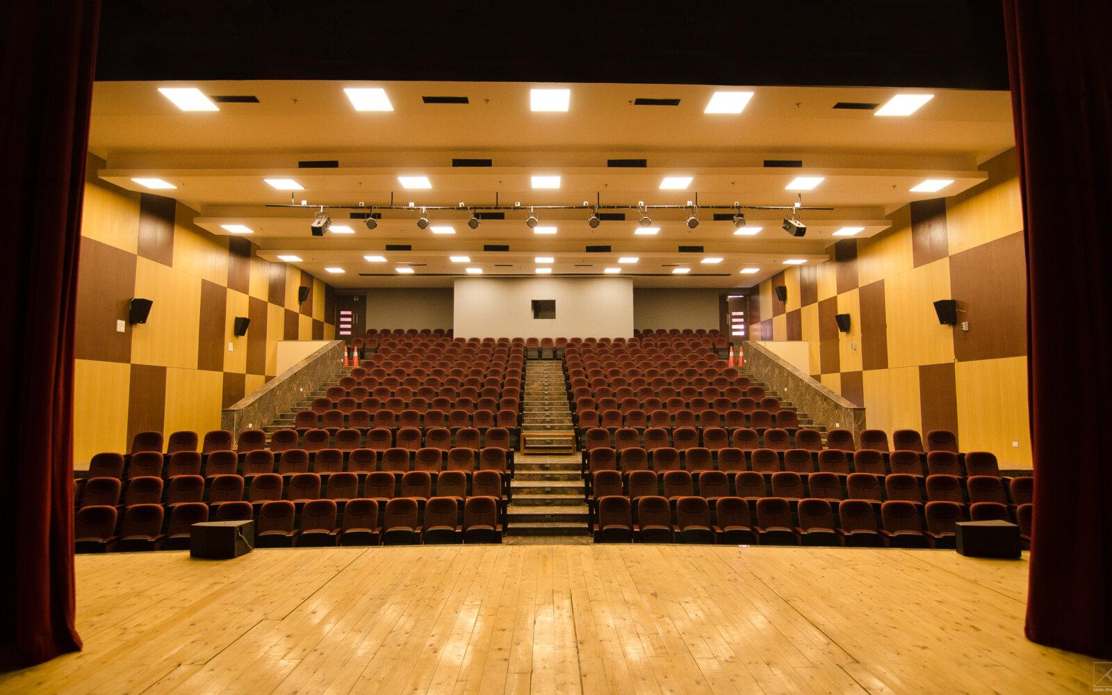 Pacific World School theatre