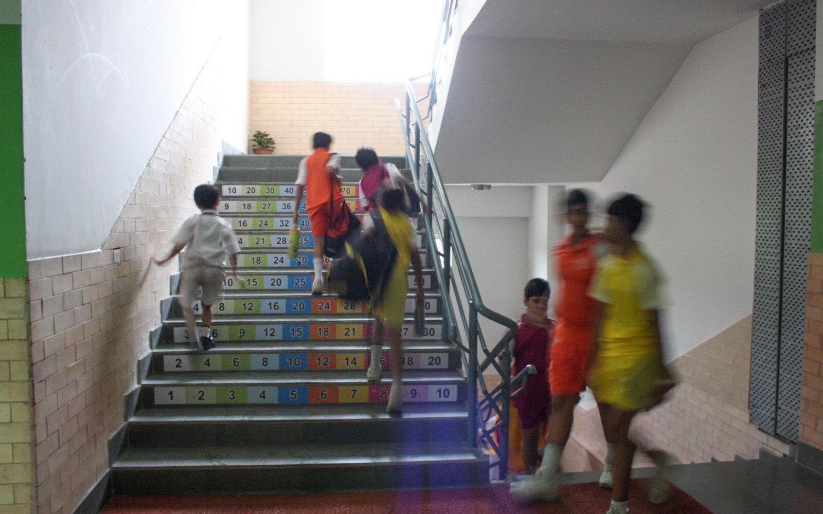 Pacific World School pupils