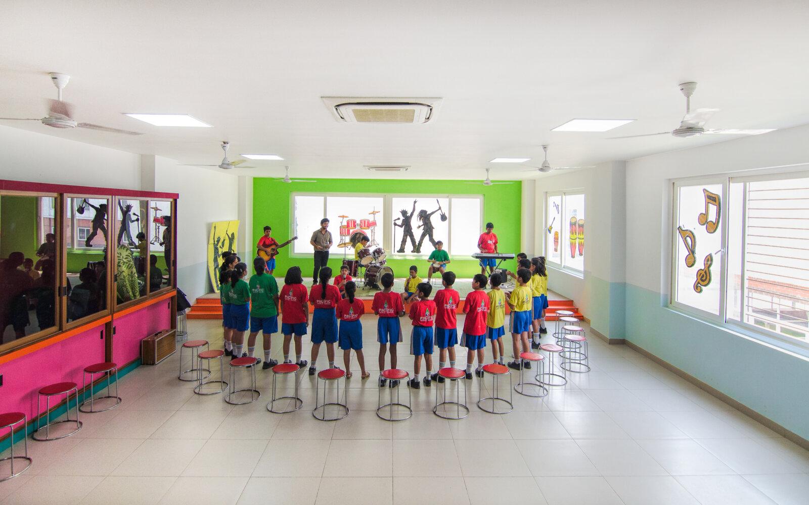 Pacific World School classroom