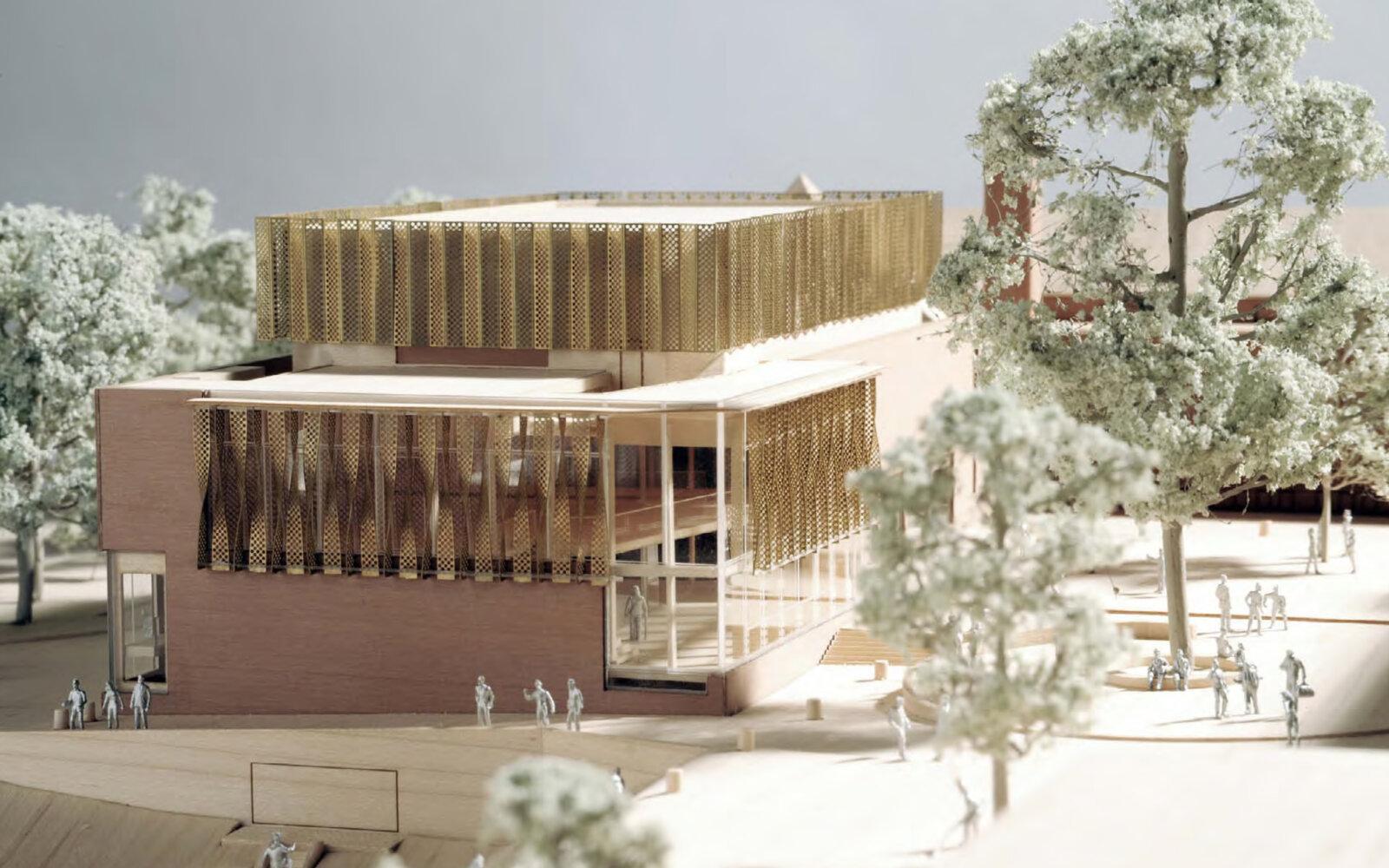 The Ruddock Performing Arts Centre 3d model