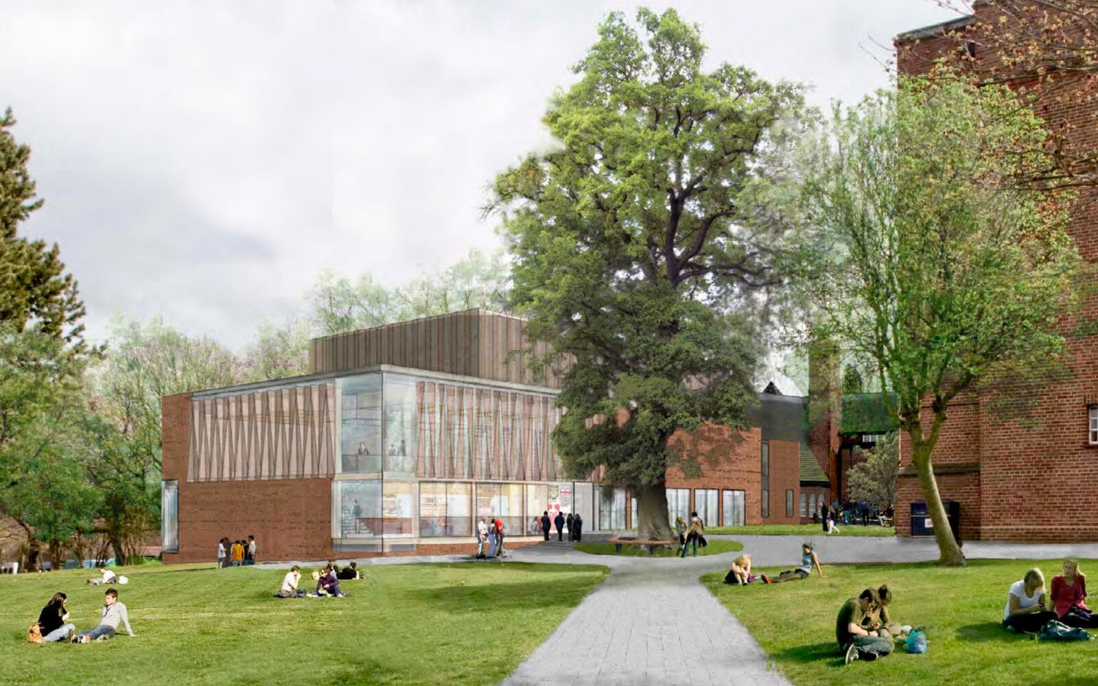 The Ruddock Performing Arts Centre CGI