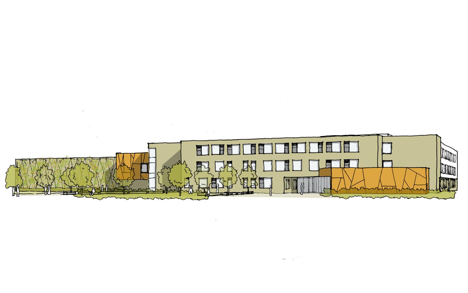 Aureus School concept sketch