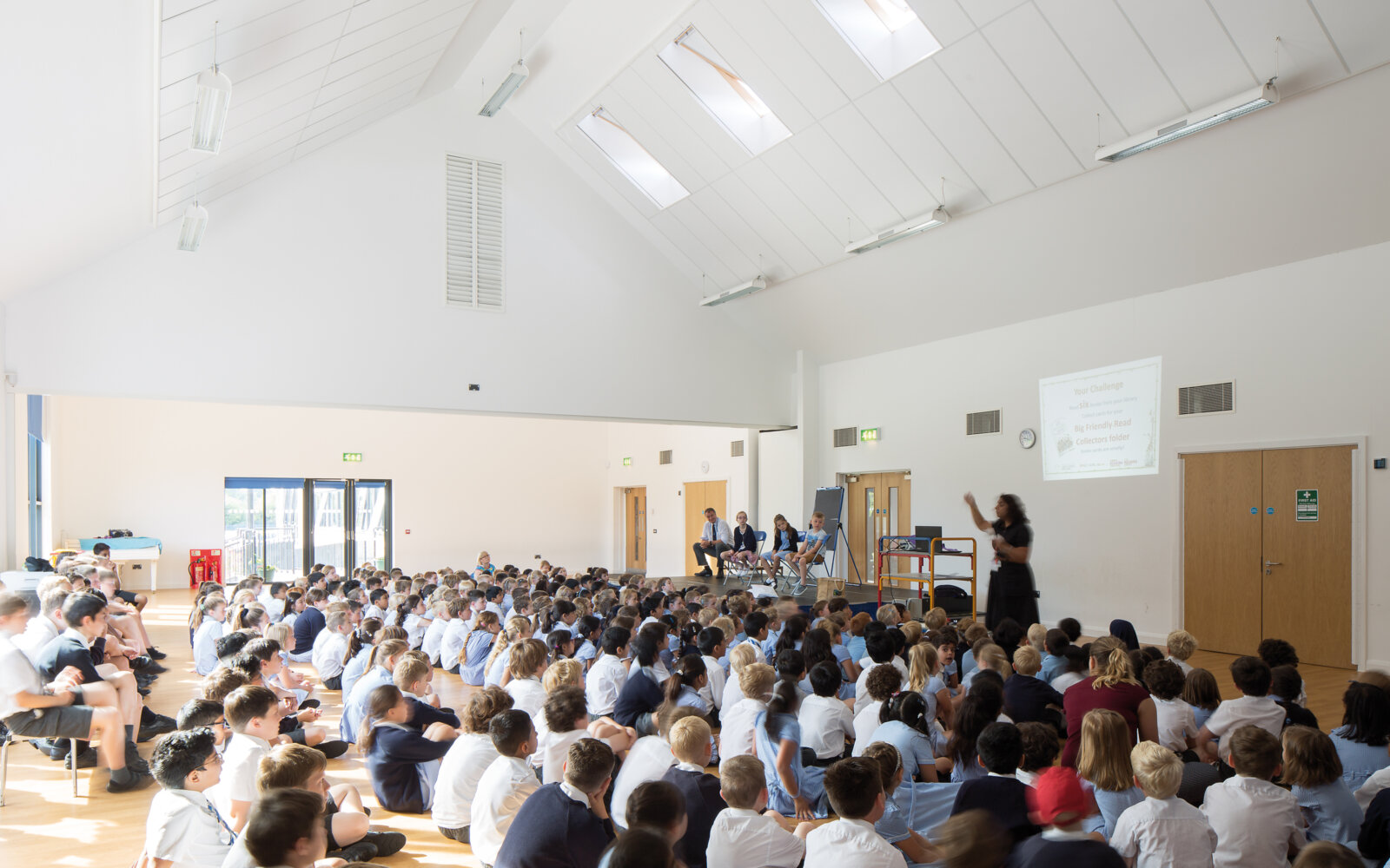 Oldfield Primary School assembly hall