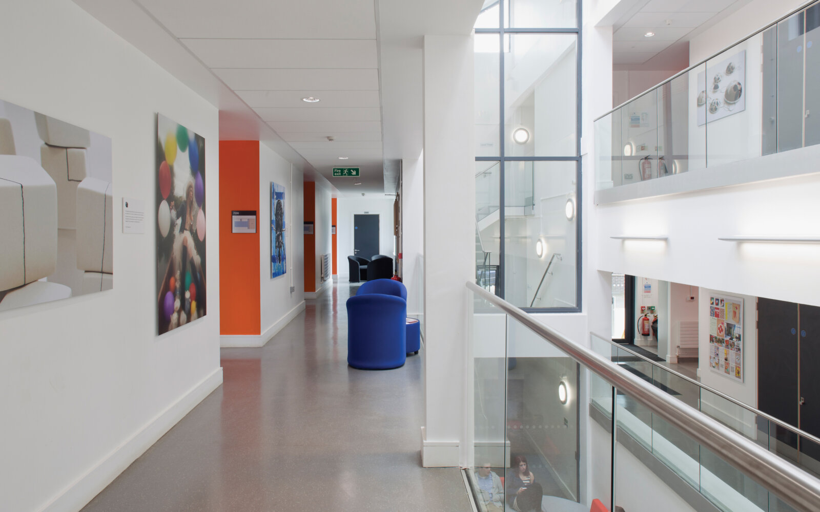 Activate Learning Oxfordshire balcony interior