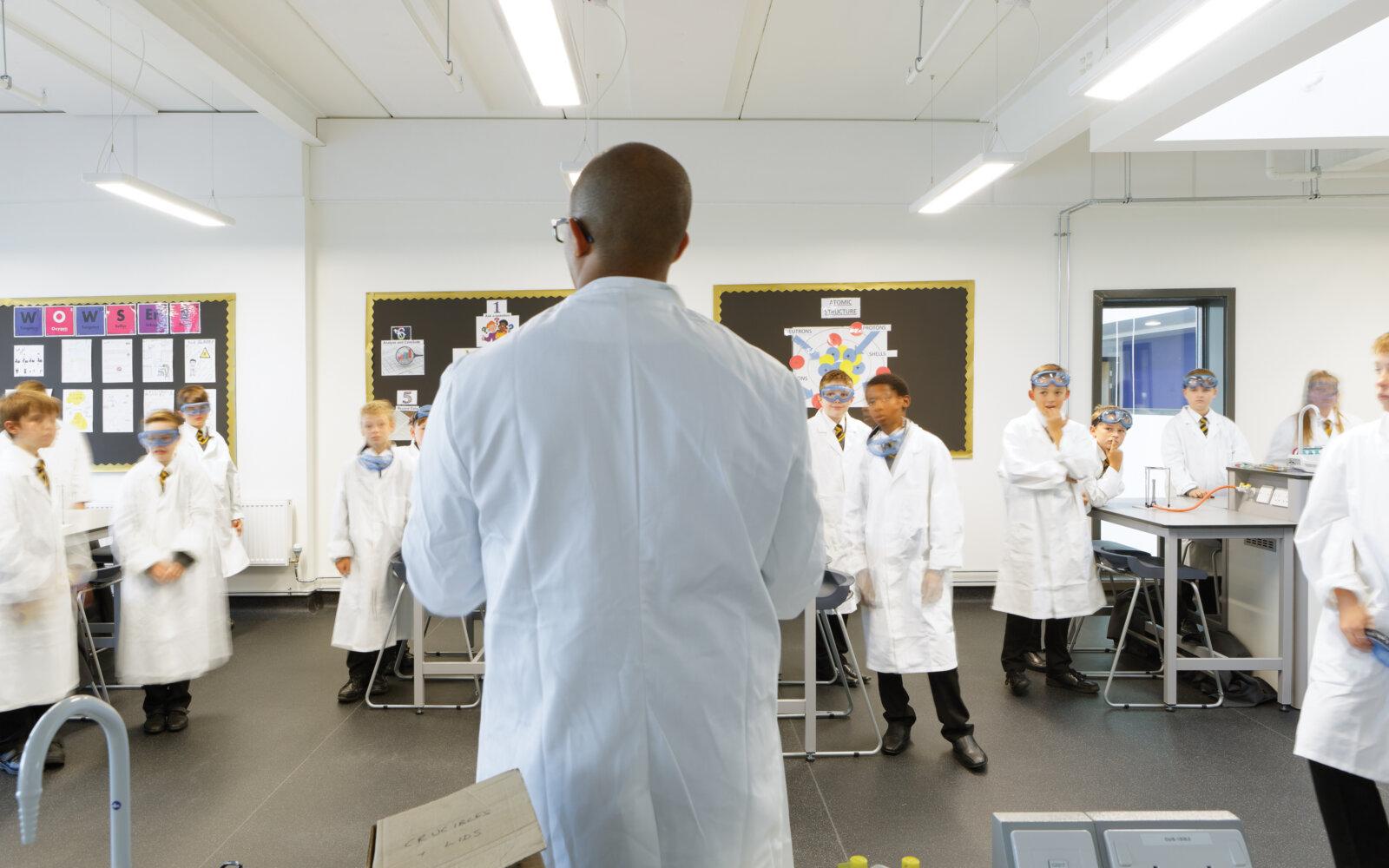 Aureus School classroom