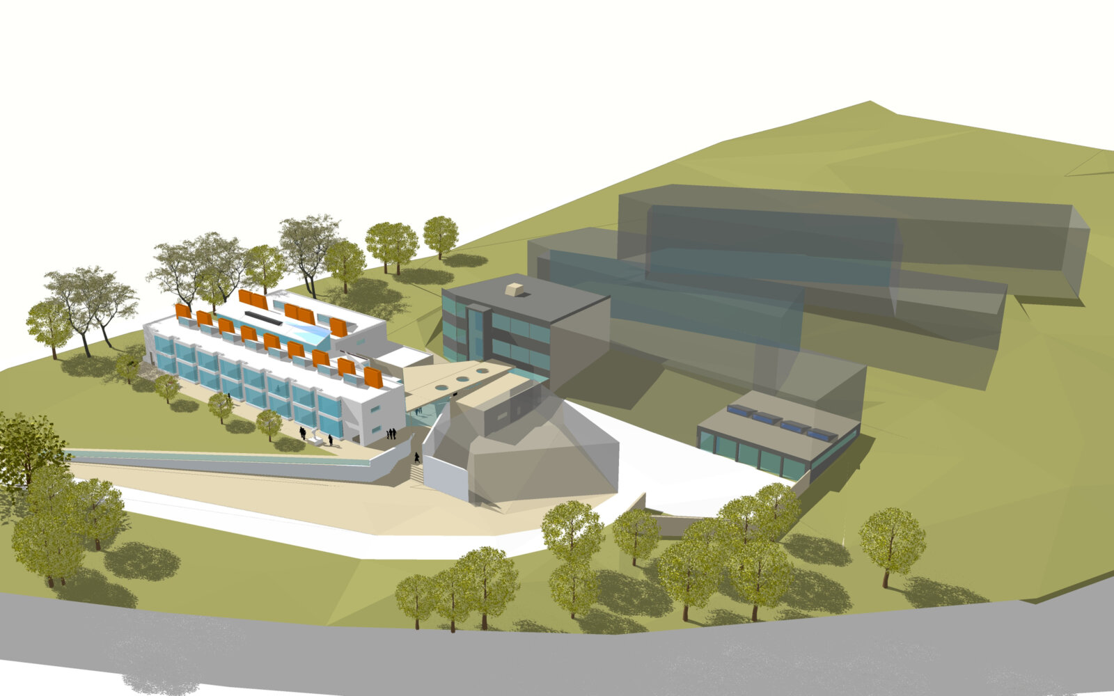 Activate Learning Oxfordshire 3D CGI