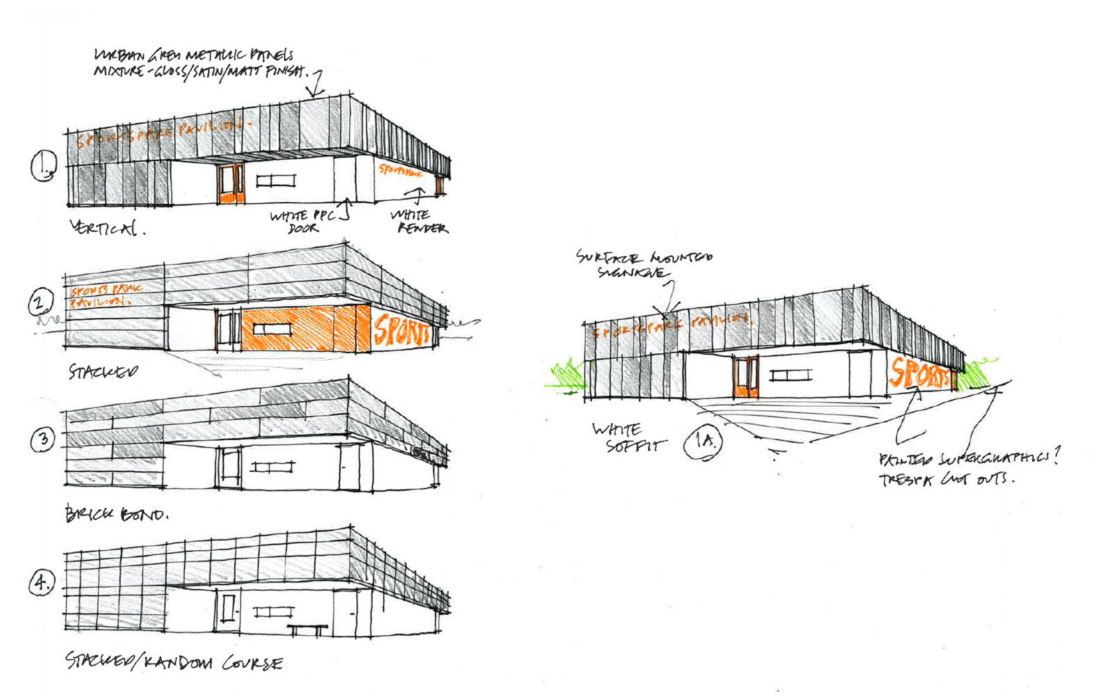 SportsPark Pavilion sketch