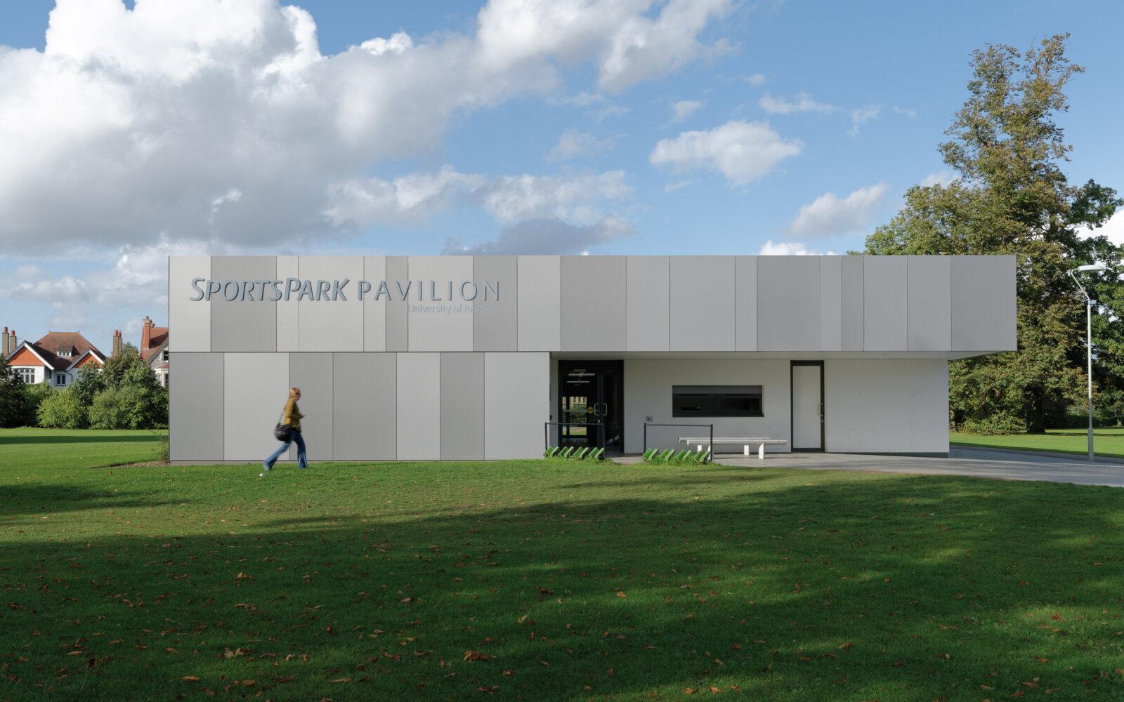 SportsPark Pavilion exterior