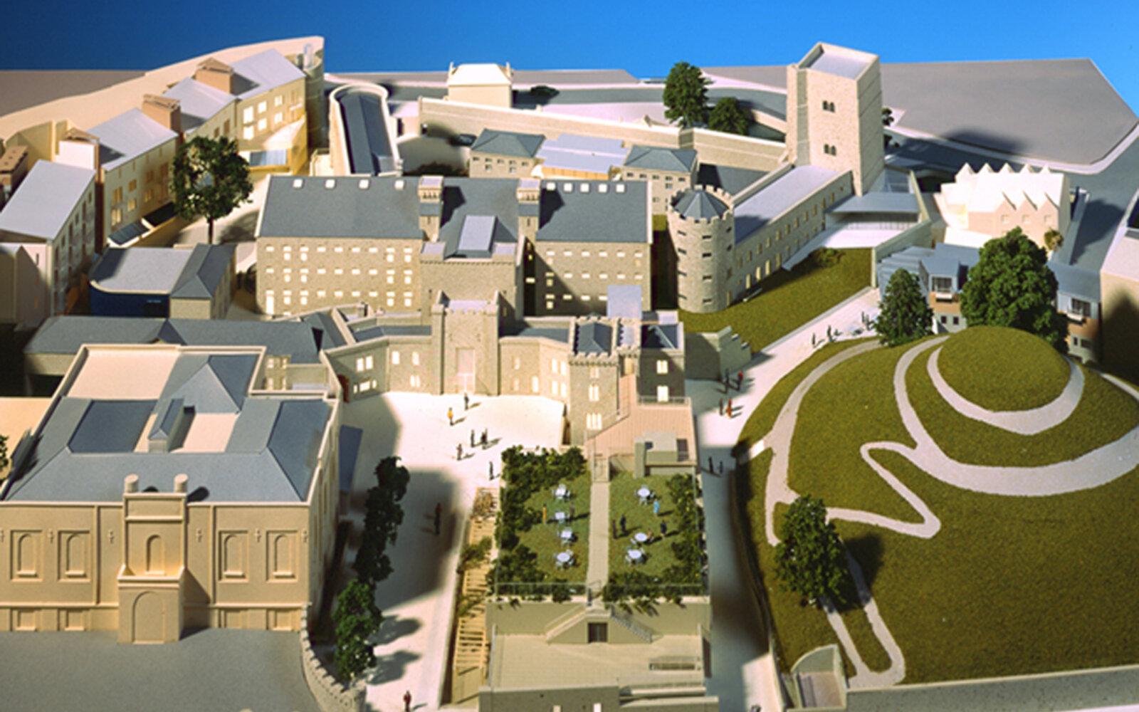 Oxford Castle 3D Model