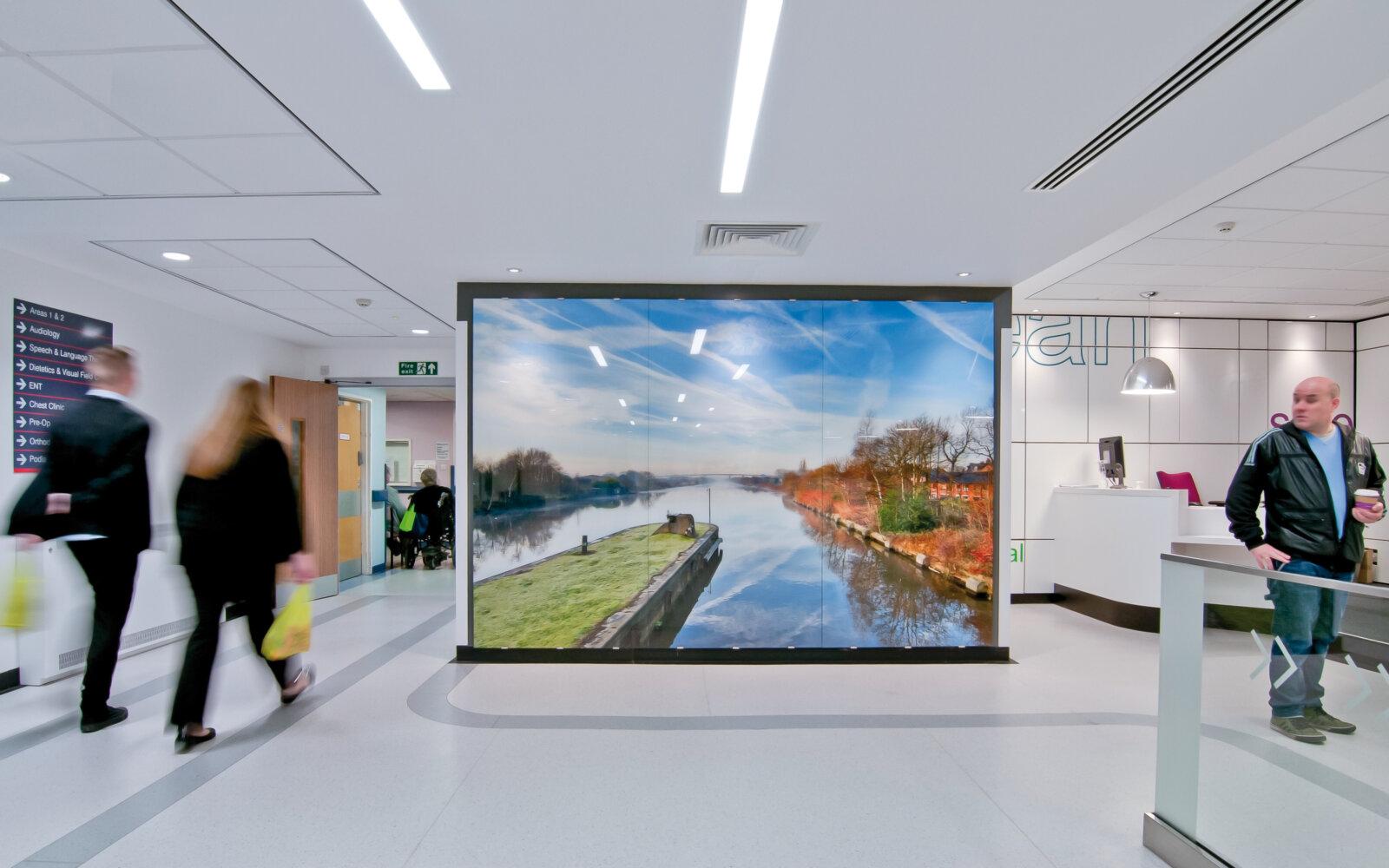 Salford Royal Hospital interior