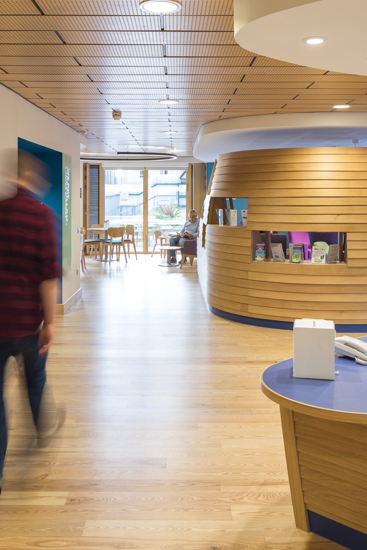 The Cove Macmillan Cancer Support Centre reception