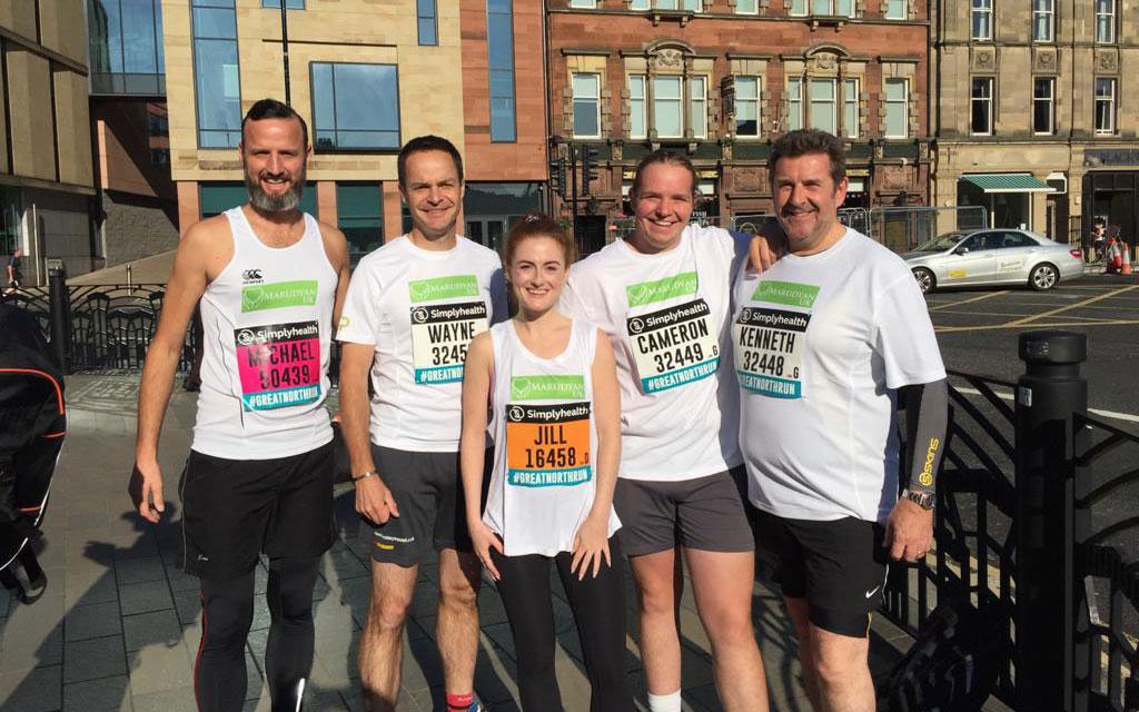 Great North Run - ADP Team
